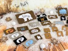 "Plotter-Datei ""Labels Winter-Edition"" (3er-Set)"