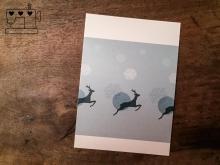 "Postkarte ""Hirsch"""