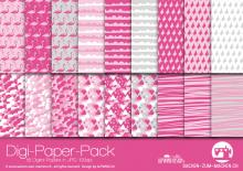 """Digi-Papers """"flamingo - pink"""""""