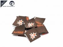 "20 St. Label ""new stars"" brown-orange"
