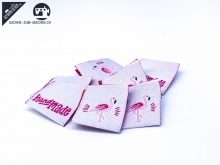"20 St. Label ""Flamingo"" - rosa"