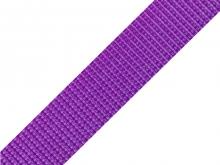 Gurtband 25mm - violett