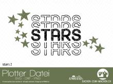 """Plotter-Datei """"stars"""" #2"""