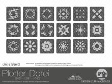 "Plotter-Datei ""circle label"" #2"