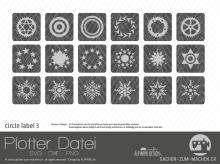"Plotter-Datei ""circle label"" #3"