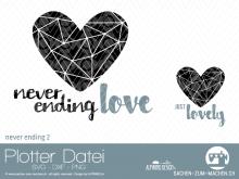 """Plotter-Datei """"never ending"""" #2"""