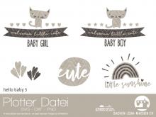 """Plotter-Datei """"hello baby #3"""""""