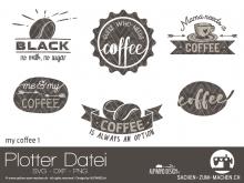 "Plotter-Datei ""my coffee #1"""