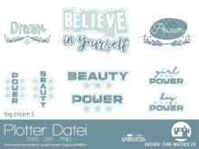 "Plotter-Datei ""big dream #3"""