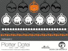 """Plotter-Datei """"Halloween #2"""""""