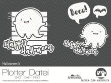 """Plotter-Datei """"Halloween #3"""""""