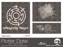 "Plotter-Datei ""Labyrinth #2"""