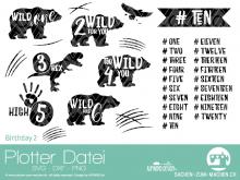 """Plotter-Datei """"birthday #2"""""""