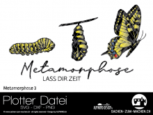 "Plotter-Datei ""Metamorphose #3"""