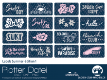 "Plotter-Datei ""Labels Summer-Edition #1"""