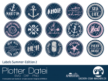 "Plotter-Datei ""Labels Summer-Edition #2"""