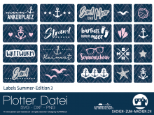 "Plotter-Datei ""Labels Summer-Edition #3"""