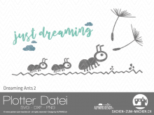 "Plotter-Datei ""dreaming ants"" #2"