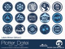 "Plotter-Datei ""Labels Winter-Edition"" #2"