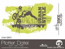 "Plotter-Datei ""Urban BMX"" #1"