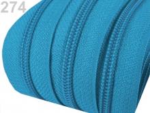 1m endlos-Reissverschluss 3mm inkl. 5 St. Zipper - 274