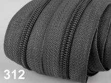 1m endlos-Reissverschluss 3mm inkl. 5 St. Zipper - 312