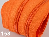 1m endlos-Reissverschluss 3mm inkl. 5 St. Zipper - 158