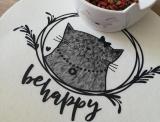 "Plotter-Datei ""Happy Cat"" (3er-Set)"