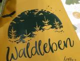 """Plotter-Datei """"Waldleben #1"""""""