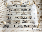 """Plotter-Datei """"Labels Summer-Edition"""" (3er-Set)"""