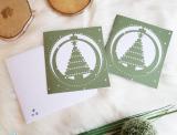 """Plotter-Datei """"Karte Weihnachtsbaum"""""""