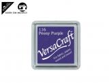 Stempelfarbe 3.3cm für Stoff, Papier, usw. - peony purple