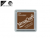 Stempelfarbe 3.3cm für Stoff, Papier, usw. - chocolate