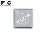 Stempelfarbe 3.3cm für Stoff, Papier, usw. - cool grey