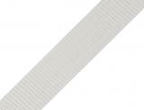 Gurtband 25mm - hellgrau