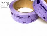 "Klebeband 36mm x 66m ""Handmade-bird"" lila/violett"
