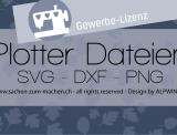 Gewerbelizenz für ein 3er-Set Plotter-Datei nach Wahl