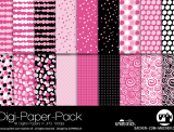 "Digi-Papers ""dots - pink"""