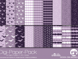 "Digi-Papers ""swallow - lavender"""