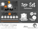 "Plotter-Datei ""Halloween"" (3er-Set)"