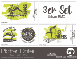 "Plotter-Datei ""Urban BMX"" (3er-Set)"