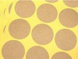 """""""leere runde"""" Aufkleber Ø3.5cm, 4 Bögen (36 Sticker)"""