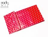 10 St. Papiertüten Punkte rot/weiss  10x18x6cm