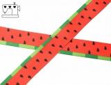 """Ripsband, 22mm """"Melonen-Kerne"""""""