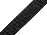Gurtband 25mm - schwarz