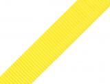 Gurtband 25mm - gelb