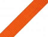 Gurtband 25mm - orange