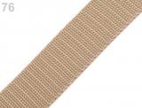 Gurtband 25mm - sand