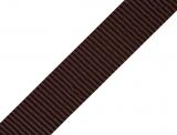 Gurtband 25mm - braun