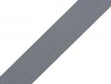 Gurtband 25mm - grau